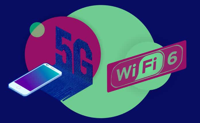 Home Connection, Gara tra 5G e wi-fi 6